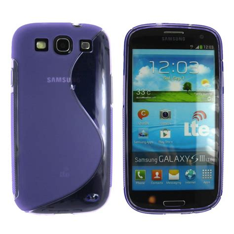 s curve rubber for samsung galaxy s3 siii i9300 screen protector ebay