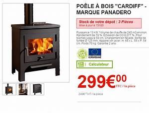 Buche De Bois Compressé Brico Depot : poele a bois brico leclerc ~ Dailycaller-alerts.com Idées de Décoration