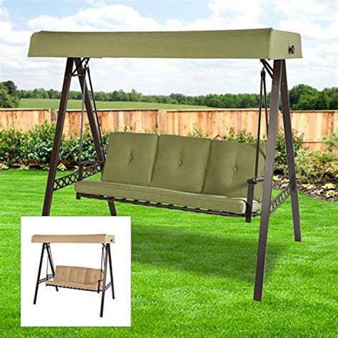 garden winds 3 seater a frame swing replacement canopy