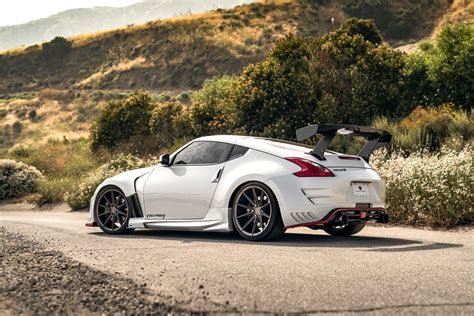 2018 Nissan 370z Nismo Fitted With 20 Inch Bd11s In Matte