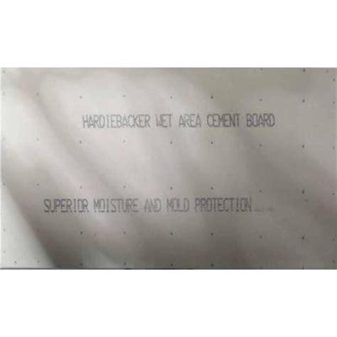 james hardie hardiebacker 1 4 in x 4 ft x 8 ft cement