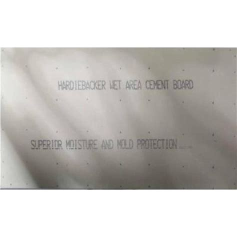 hardie hardiebacker 1 4 in x 4 ft x 8 ft cement