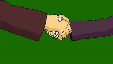 handshake animation  separate mattealpha clip