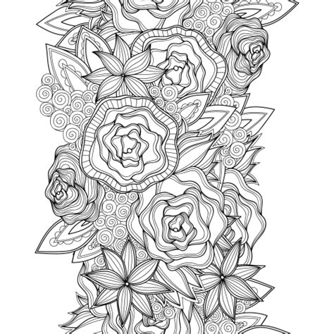 flower advanced coloring pages  kidspressmagazinecom