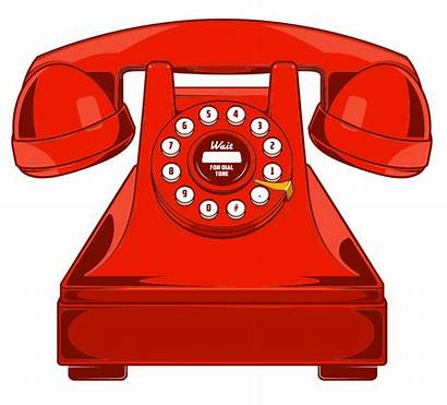 Phone Telephone Line Ring Vector Background Clipart