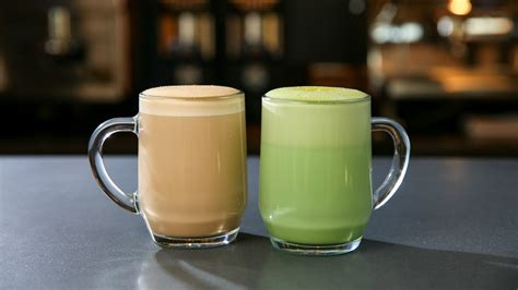 tea latte starbucks releases two new drinks smoked butterscotch latte and citrus green tea latte today com