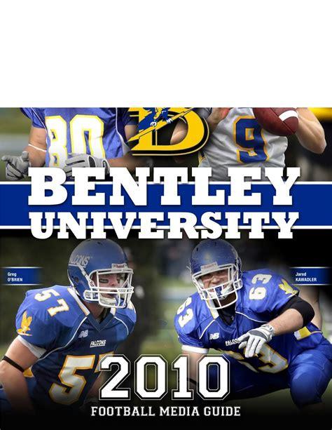 bentley college football 2010 bentley university football media guide by lipe
