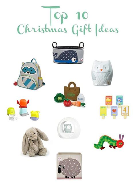 Top 10 Christmas Gift Ideas For 2016  Peekaboo Baby