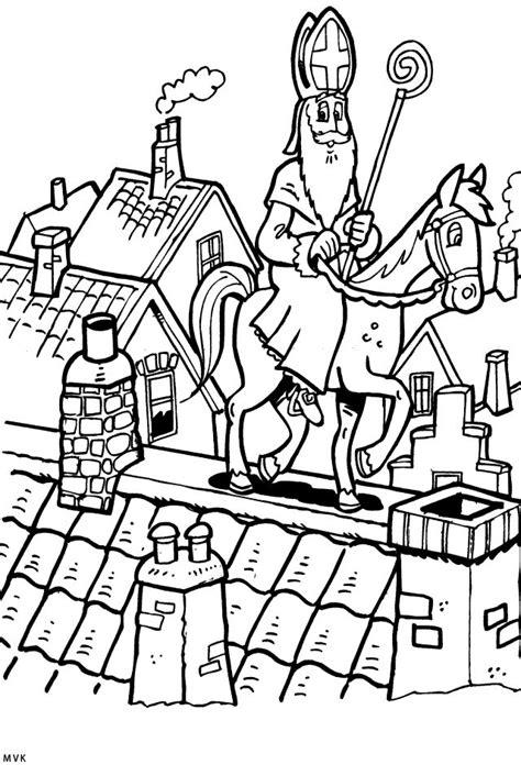 Kleurplaat Kasteel Sinterklaas by 57 Best Images About Sinterklaas Kleurplaten On