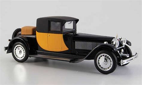 bugatti royale coupe napoleon yellow black  rio diecast model car  buysell diecast