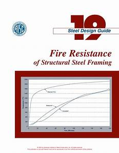 Aisc Design Guide 19 Fire Resistance Of Structural Steel
