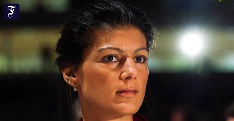 Was mich wirklich aufregt, ist. Sahra Wagenknecht: Die Stellvertreterin - Inland - FAZ