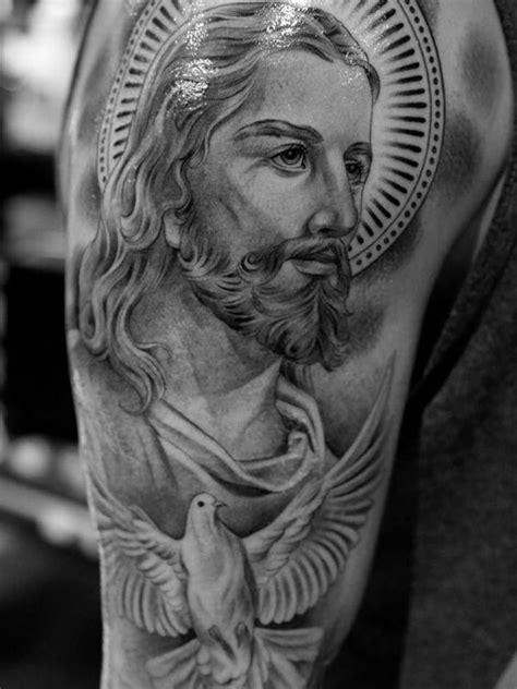 30 Revere Jesus Christ Tattoo Designs   Amazing Tattoo Ideas