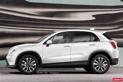 Fiat 500 X by Fiat 500 X Association De Bienfaiteur L Argus