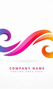 Free Vector | Abstract logo made with colorful swirls