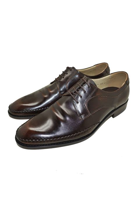 Cowhide Leather Shoes by Brown Authentic Cowhide Leather Oxfords Dress Shoes