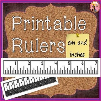 printable rulers  nylas crafty teaching teachers pay