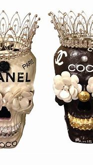 Chanel Skulls Trayschic.com pinned by TheChanelista on ...