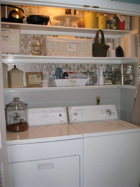Organizing Small Basement Laundry Room Design After