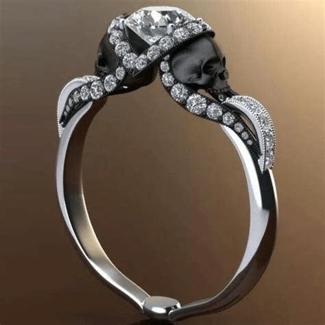 gothic engagement rings designs inspiration durham rose