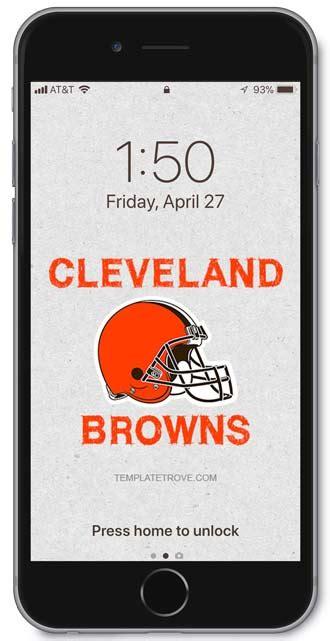 cleveland browns lock screen schedule iphone