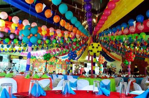 lucias pista sa nayon themed party venue decor