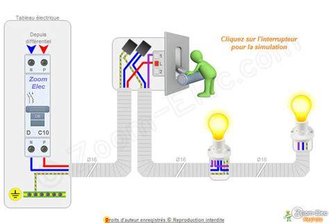 branchement electrique interrupteur le montage cblage branchement dun interrupteur simple allumage comment brancher un interrupteur
