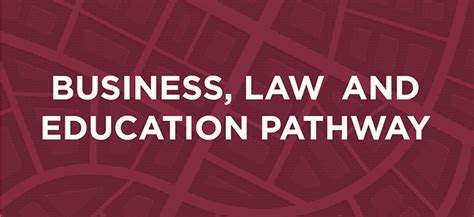 business law education pathway