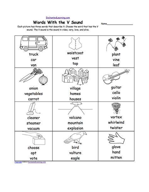 3 letter words with v pre k worksheets letter v alphabet activities at 30124