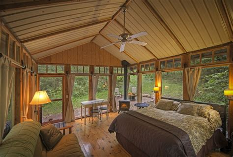 glass cabin wisconsin the glass house a rustic retreat in the of wisconsin