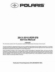 2013 2014 2015 Polaris Ranger Rzr    Rzr 570    570 Le Utv