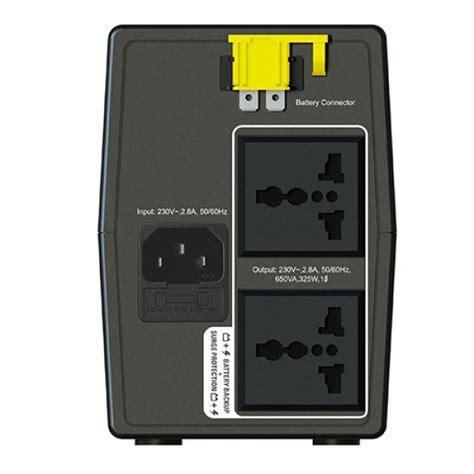 APC BX650LIMS BackUPS 650VA, 230V, AVR, Universal Sockets
