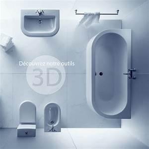 Plan 3d Salle De Bain : conception de salle de bain ~ Melissatoandfro.com Idées de Décoration