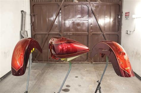 How To Paint A Two Stage Custom Paint Job