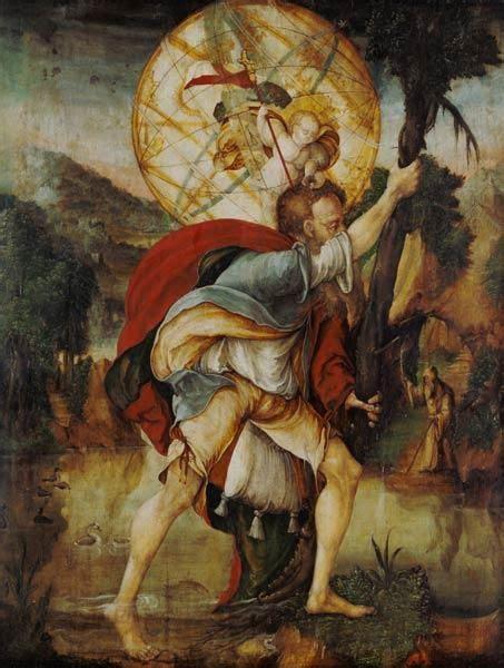 der heilige christophorus 49 best christophorus images on christopher drawings and catholic