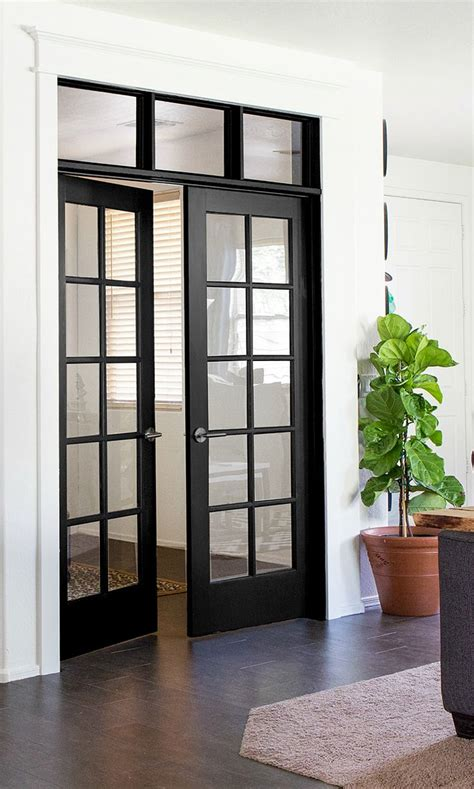 Best 25+ Black French Doors Ideas On Pinterest French