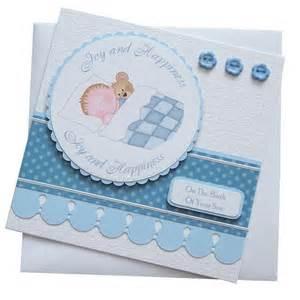 New Baby Boy Card Handmade