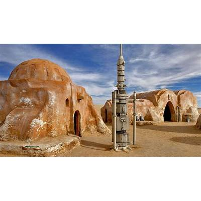Filming location for the ´Star Wars´ movies Chott el