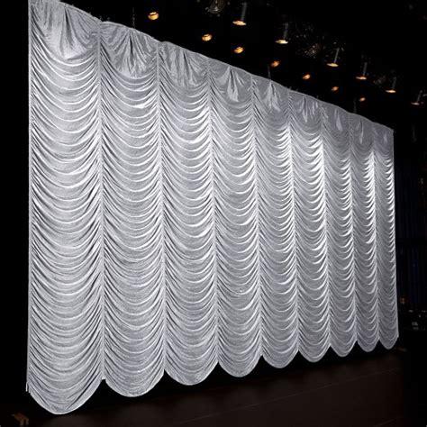 austrian drape tergalet crushed silk austrian ifr curtain rental from