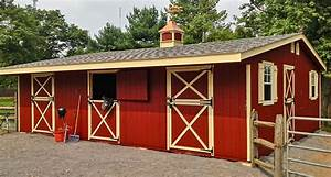 shedrow horse barns shed row barns horizon structures With backyard horse barn