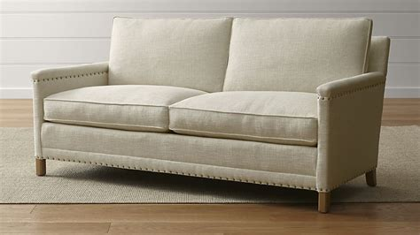 crate and barrel apartment sofa apartment sofas 5 apartment sized sofas that are