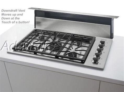 gas downdraft cooktop 36 cooktop downdraft ebay