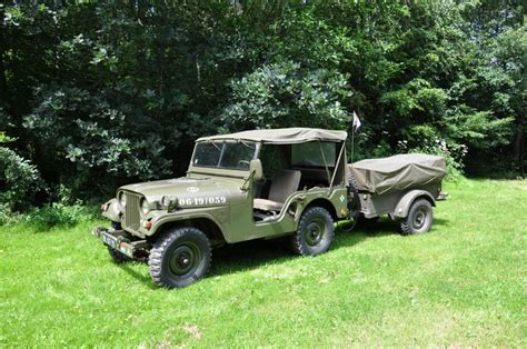 kaiser willys jeep kaiser willy m38a1 jeep 1956 avec remorque catawiki