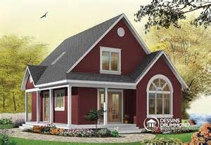 Stunning Small Farmhouse Plans With Porches Photos by D 233 Du Plan De Maison Unifamiliale W3507