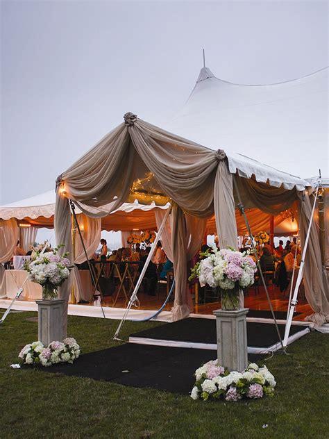 prettiest outdoor wedding tents weve