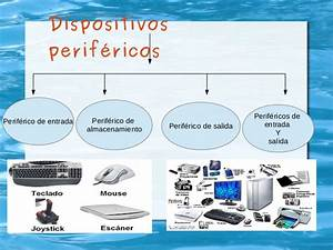 tipos de perifericos de entrada, salida y almacenamiento de datos