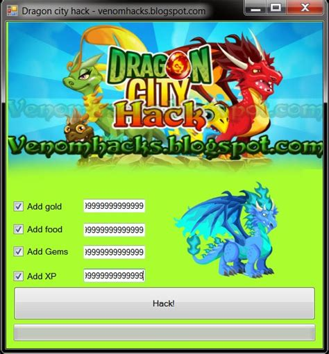 Dragon city hack 2 0 VenomHacks