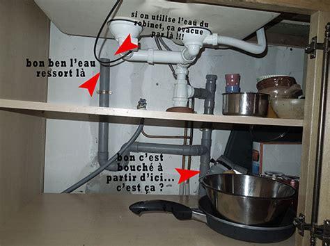 canalisation cuisine bouch馥 lave vaisselle sous evier ikea maison design bahbe com
