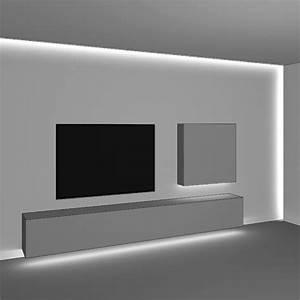 Wand Mit Indirekter Beleuchtung : fernsehwand mit indirekter beleuchtung ~ Sanjose-hotels-ca.com Haus und Dekorationen