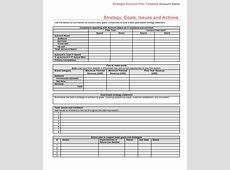 Strategic Account Plan Template for B2B Sales Released by